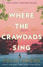 Where the Crawdads Sing, Owens, Delia, Excellent condition, Book