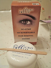 Micro Tweeze MICROWAVEABLE Hair removal System NO STRIPS NEEDED .5 oz.