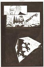 Establishment #13 p.4 Jon Drake and Scarlet - Space Splash art by Charlie Adlard Comic Art