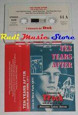 MC TEN YEARS AFTER Live in New york 1971 DIZIONARIO ROCK PROMO no cd lp dvd