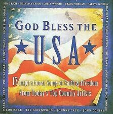 God Bless The USA - 17 Inspirational Songs Of Faith & Freedom From Today's Top C