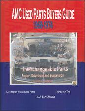 AMC Parts Interchange Manual 1970 1971 1972 1973 1974 Gremlin Hornet Matador