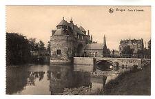 Porte d'Ostende- Bruges Photo Postcard c1910