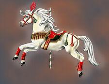 """Little Joe the Circus Pony"" Horse Carousel Cards"