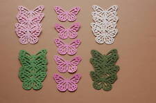 25 Monarch Butterfly Punchie Die Cut/Cuts *Botanical Cardstock