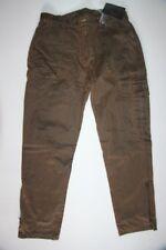 SOMLYS - Pantalon Chasse - Façon Cuir - SL-Tex - Ref 565 - Marron -   46 neuf