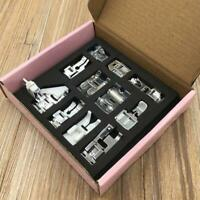 11Pcs Domestic Sewing Machine Presser Foot Feet Accessories Set