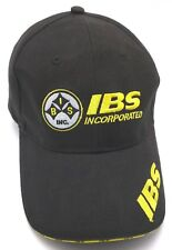 IBS INCORPORATED (WA) black adjustable cap / hat - 100% cotton