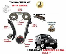 Per Land Rover Defender 2.2 Td4 122BHP 2011- Kit Catena Distribuzione +