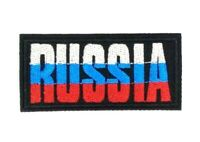 us seller Russia Russian Letters Country Embroidered Patch Iron On Applique 1612