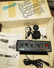 Omega Cs-25 Auto Exposure Control 480-700 in origional box