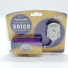 Cyber Acoustics (CA) PCvoiceLINK CVL-1101 Computer Microphone For Voice-Over