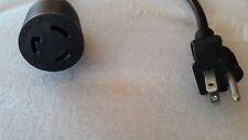 "Nema 5-15 Male to Nema L6-20R 22"" long Adapter Cable"