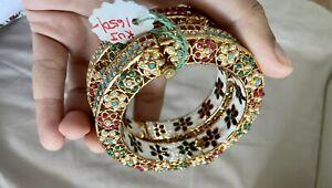 Indian Costume Jewellery Bangles Brand New 2.6