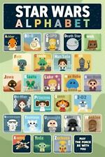 Star Wars Classic - ABC Poster 61x91cm May The Force Learn Alphabet a to Z