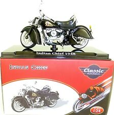 Indian Chief 1948 Moto Classique Atlas 4658106 Neuf 1:24 Emballage D'Origine Hd5