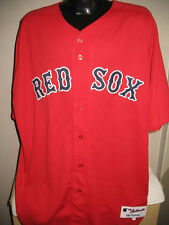 Boston Red Sox On Field Authentic Red Alternate Baseball Jersey Shirt Chest Sz