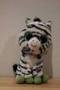 Ty Beanie Boo - Zigzag the Zebra - 15cm/6 inch (Regular)