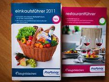 WEIGHT WATCHERS  Einkaufsführer / Restaurantführer PROPOINTS 29.000 Lebensmittel