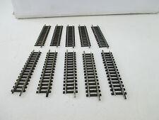 TRIX Piste N 4905 Ger. de voie 76,3 mm 10 pcs wt9837