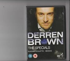 DERREN BROWN THE SPECIALS DVD RUSSIAN ROULETTE AND SEANCE
