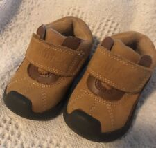 Toddler Boys Nubuck Leather Dress Shoes Camel Color Brown Size 3