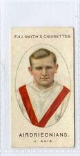(Gw094-447) Smith, Football Club Records, #2 J.Reid, Airdrieonians 1922 VG