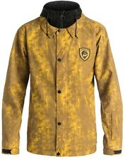 DC Cash Only Ski/Snowboard Jacket, M, Decay Dull Gold