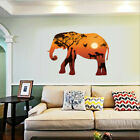 Removable Elephant Dusk Silhouette Wall Sticker Wallpaper Decal Home Decor Diy