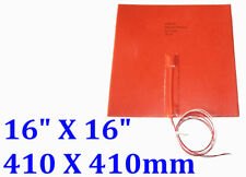 "16"" X 16"" 410 X410mm 48V 1000W w/ 3M w/ Thermistor 3D Printer HeatBed Pad Heater"
