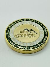Pine Canyon AZ Member Magnetic Golf Yardage Ball Marker Coin Medallion Mint Rare