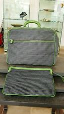 VALEXTRA Italy Tasche LOGO Weekender Reisetasche + Clutch travel bag