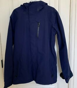 NWOT Men's Medium Navy Volcom L Gore-Tex Snowboard / Ski Jacket
