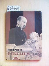HIER SPRICHT DIBELIUS - RUTTEN & LOENING - 1960