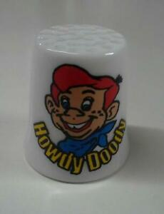 Howdy Doody Collectible Porcelain Thimble