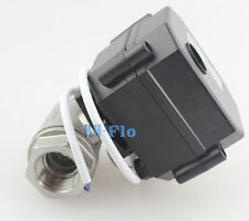 """1/2"""" DC12V SS304 Motorized Ball Valve,Electrical Ball Valve CR-05 From US"""