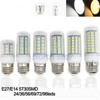 5x/1x  E27 LED maïs ampoules lampe 7/11/12/15/18w 5730 220V Blanc Chaud/Froid