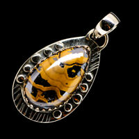 "Schalenblende 925 Sterling Silver Pendant 1 3/4"" Ana Co Jewelry P722521F"