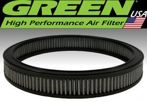 """Green Filter USA 2874 Reusable Undyed High Air Flow Element Round 14"""" x 2"""""""