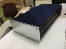 1306 silver Aluminum mini Power amp Enclosure Power supply box /case DIY