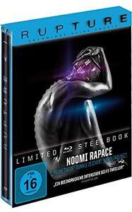 RUPTURE blu ray Steelbook ( NEW ) Noomi Rapace - REG B
