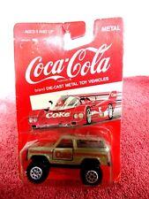 RARE 1988  HARTOY INC.  COCA-COLA  DIE-CAST  4X4  WAGON UNOPENED