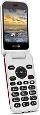 "Doro 6620 2.8"" OAP Big Button teléfono móvil Desbloqueado Sim Libre - (Rojo) B +"