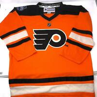 NWT Youth Winter Classic Flyers Jersey Orange Reebok Youth L/X
