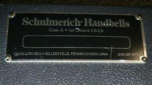 Schulmerich Handbells 2 Octaves in 2 cases, 25 total