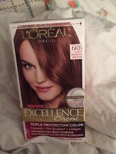 LOreal Paris Excellence Creme, 6RB Light Reddish Brown, NIB