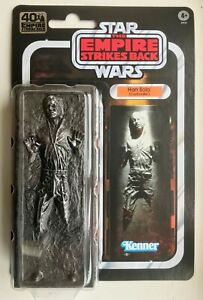Star Wars The Black Series 40th Anniversary Han Solo in Carbonite New Sealed