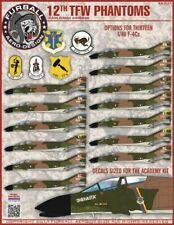 "Furball Aero-Design 1/48 ""12th Tactical Fighter Wing Phantoms"" # 48031"