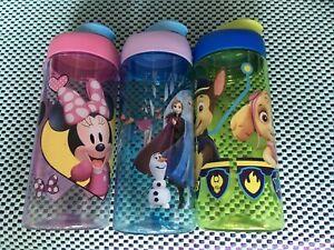 Paw Patrol/Frozen/Minnie Water Bottle 16.5oz NEW Fast Free Shipping (choose 1)