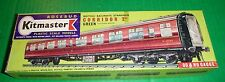 Rosebud Kitmaster Railway Kit CORRIDOR 2nd TRAIN COACH GREEN #14
